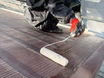 スレート屋根の塗装