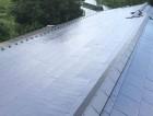 防災瓦に葺き替えた屋根