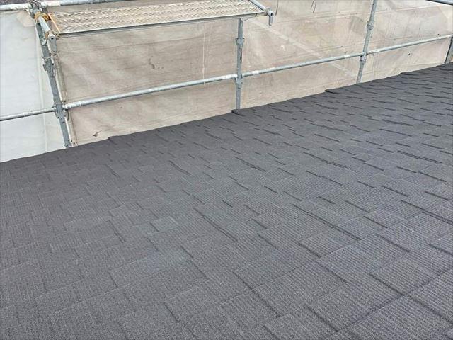 セネターで屋根カバー工法の施工後の屋根