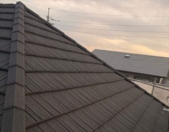 コロナで葺き替え後の屋根