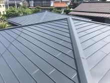 カバー工法後の屋根