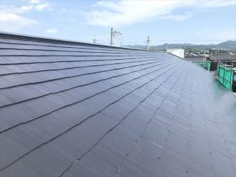 塗装後のカラーベスト屋根