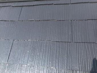 フッ素樹脂塗料で塗装後のカラーベスト