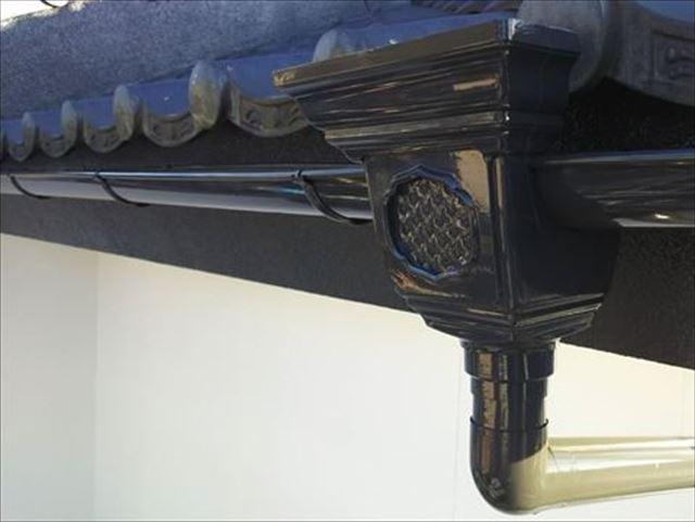 防府市で樋修理をした雨樋