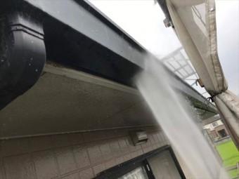 雨樋の洗浄