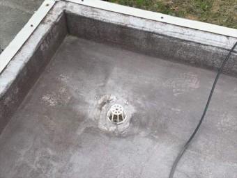 屋上の排水口(ドレン)
