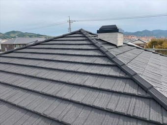 コロナで屋根カバー工法をした屋根