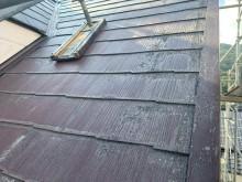 スレート屋根のケラバ板金