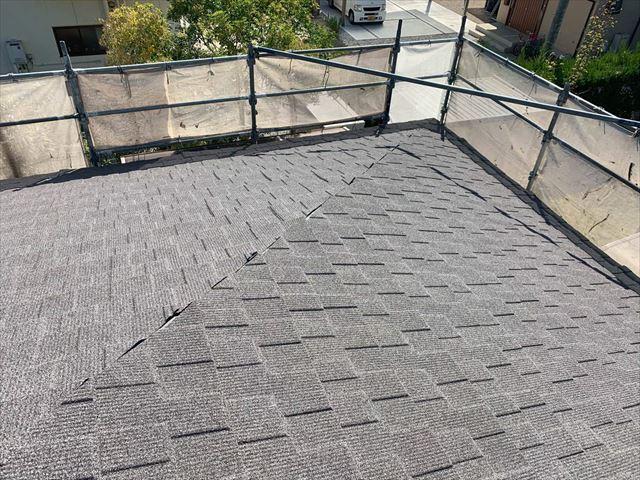 セネター屋根の隅棟