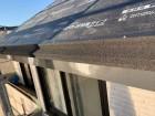 屋根の軒先の水切り