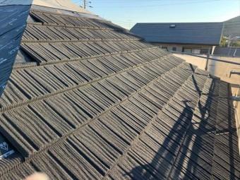 屋根材コロナの施工