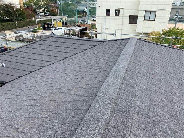 屋根カバー工事を施工後のセネター
