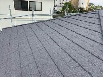 セネターで屋根カバー工事後の屋根