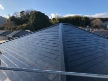 屋根塗装を施工後のスレート屋根