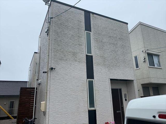光市で雨漏りが起きた軒先が短い屋根の屋根診断をして葺き替えを提案