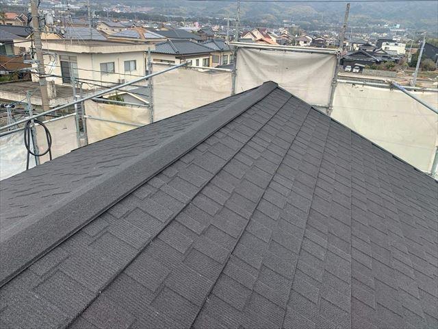 屋根カバー工法でセネターを使用した屋根