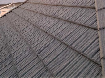 コロナを施工した屋根