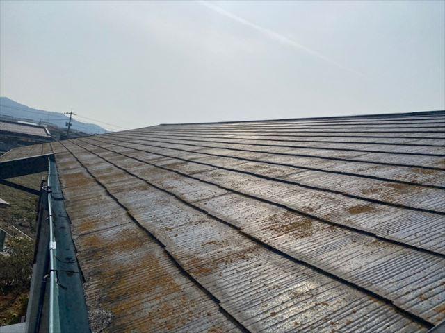 下松市で屋根点検、塗装による屋根リフォームの見積もり