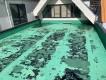 シート防水が劣化した屋上