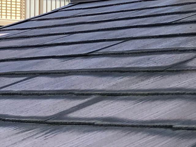 色褪せたカラーベスト屋根