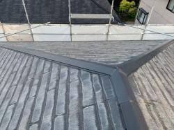 経年劣化したスレート屋根
