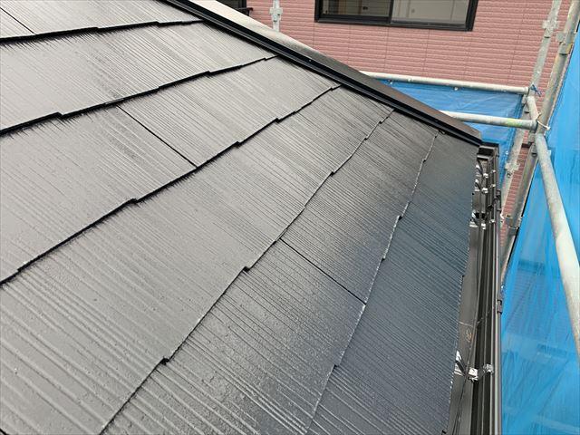 スレート屋根無機塗装