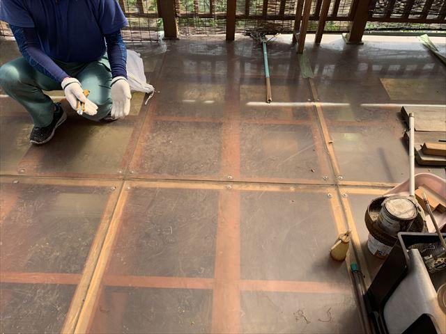 ポリカーボネート板のテラス