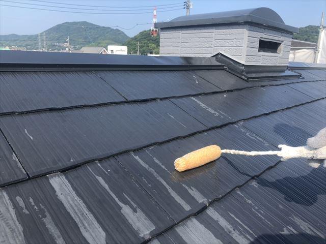 化粧スレート屋根塗装