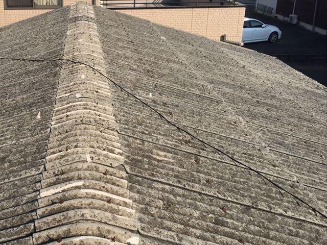 波型スレート屋根