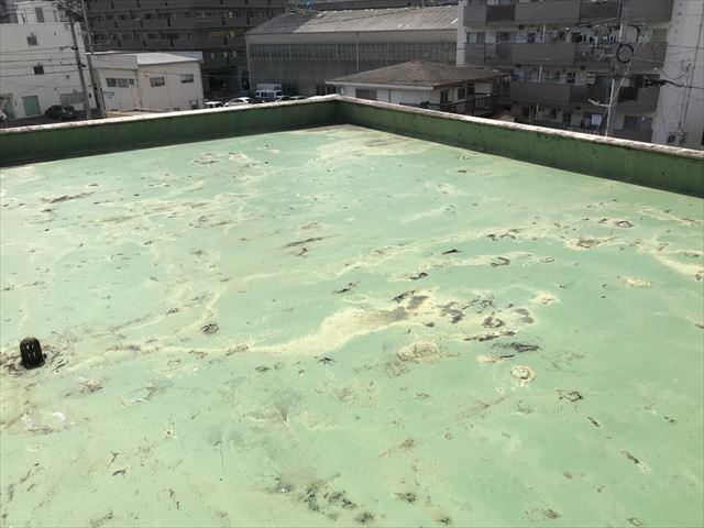 ウレタン防水の屋上