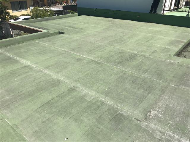 陸屋根のシート防水