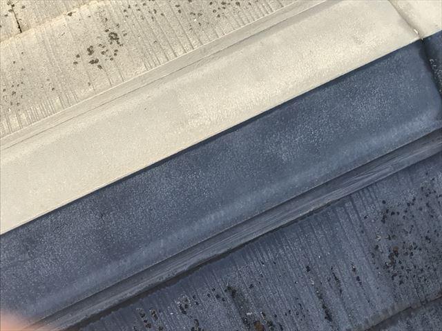 カラーベスト屋根の棟板金