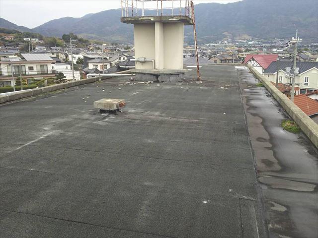 アスファルト防水の屋上