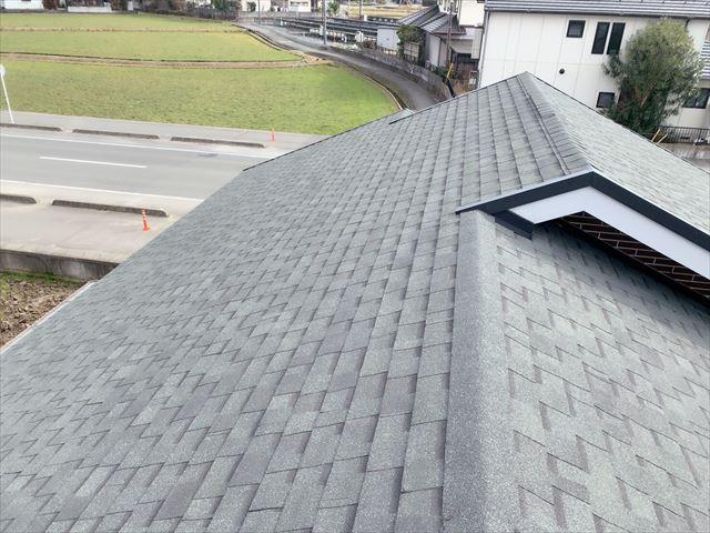 施工後のオークリッジスーパー屋根