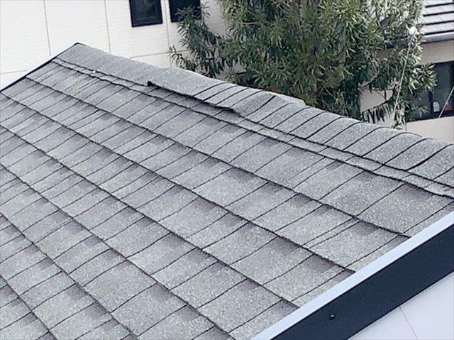 アスファルトシングル屋根の棟