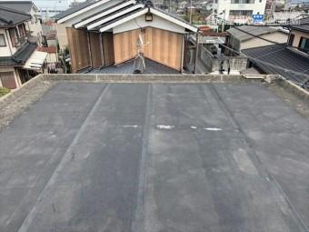 シート防水の屋上