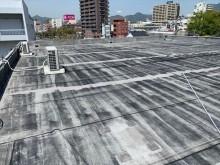 シート防水の陸屋根