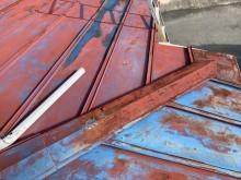 金属屋根の錆び