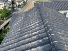 塗膜の剥がれたセメント瓦屋根