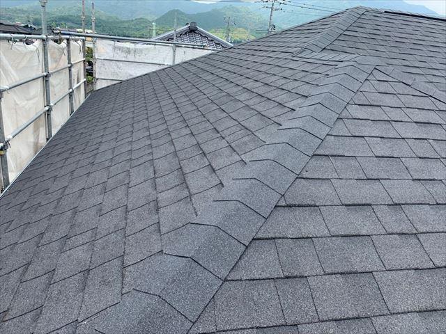 オークリッジスーパーで施工後の屋根