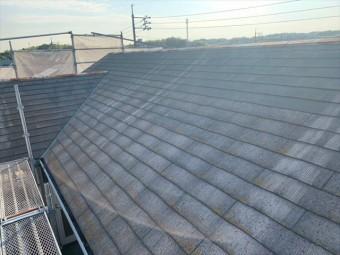 施工前のカラーベスト屋根