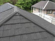セネターで屋根カバー工事の施工後
