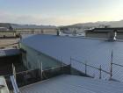 張り替えたガルバリウム屋根